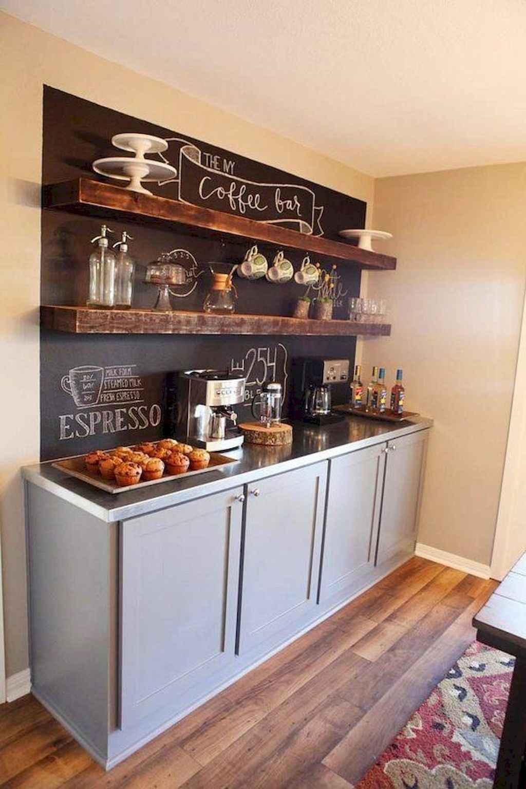 Diy Home Coffee Bar Ideas For Coffee Addict 13 Room A Holic