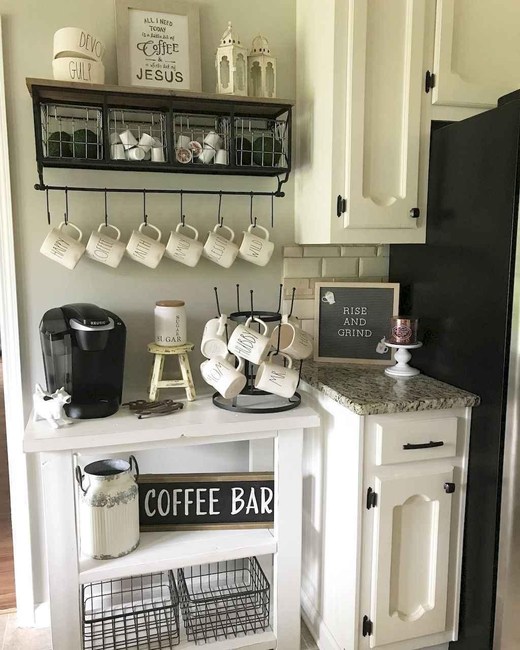 Diy Home Coffee Bar Ideas For Coffee Addict 30 Room A Holic