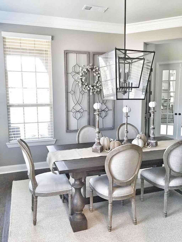 Modern Farmhouse Dining Room Decor Ideas 19 Room A Holic