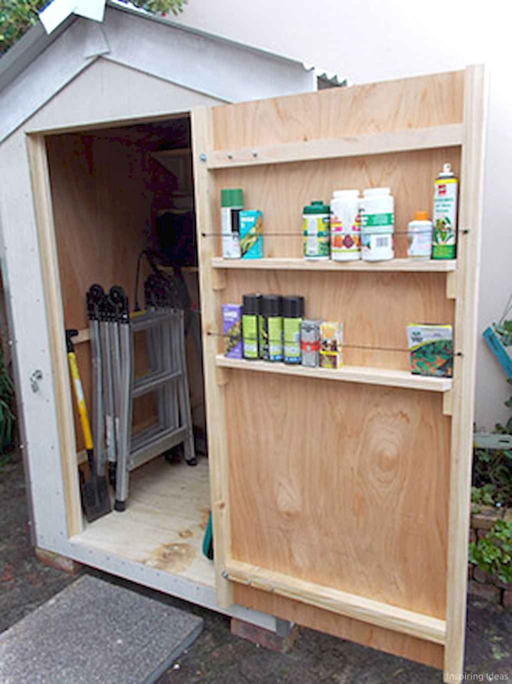 Smart garden shed organization ideas 24 , Room a Holic