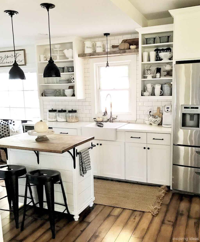 Awesome Farmhouse Kitchen Table Design Ideas 42 - Room A Holic